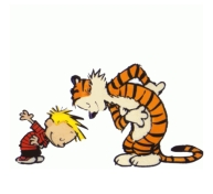 Calvin and Hobbes Greeting