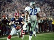 Buffalo Bills Don Beebe, Super Bowl XXVII